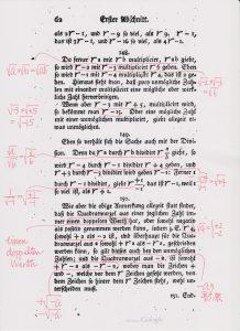 『代数学への完璧な入門』(1770年)